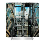 St Pauls Compressed Shower Curtain