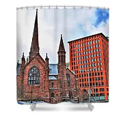 St. Paul's Episcopal Cathedral Shower Curtain