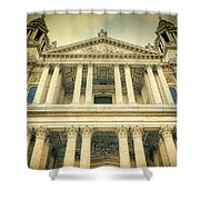 St Pauls Standing Shower Curtain