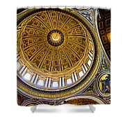 St Peter's Basilica Dome  Shower Curtain