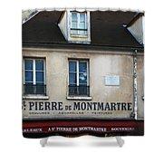 St Pierre De Montmartre Paris Scene Shower Curtain