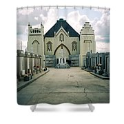 St Roch Campo Santo Shower Curtain