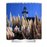 St Simons Lighthouse Shower Curtain