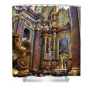 St Stanislaus - Posnan Poland Shower Curtain