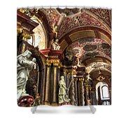 St Stanislaus Church - Posnan Poland Shower Curtain