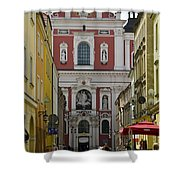 St Stanislaus Church Exterior Shower Curtain