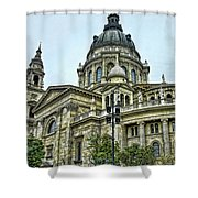 St Stephens Cathedral - Budapest Shower Curtain