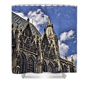 St Stephens Cathedral - Vienna Shower Curtain
