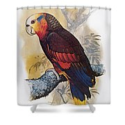 St Vincent Amazon Parrot Shower Curtain