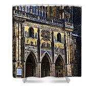 St Vitus Cathedral Entrance Shower Curtain