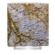St Vrain River Reflection Shower Curtain