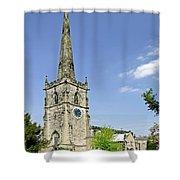 St Wystan's Church - Repton Shower Curtain