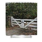 Stable Gate Shower Curtain