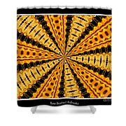 Stained Glass Kaleidoscope 37 Shower Curtain