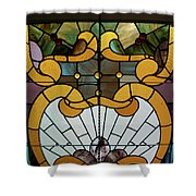 Stained Glass Lc 01 Shower Curtain