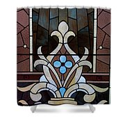 Stained Glass Lc 03 Shower Curtain