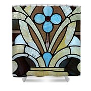 Stained Glass Lc 04 Shower Curtain