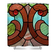 Stained Glass Lc 05 Shower Curtain