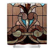 Stained Glass Lc 06 Shower Curtain