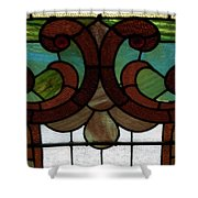 Stained Glass Lc 08 Shower Curtain