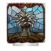 Stained Glass Lc 11 Shower Curtain