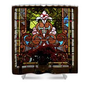 Stained Glass Lc 17 Shower Curtain