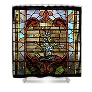 Stained Glass Lc 18 Shower Curtain