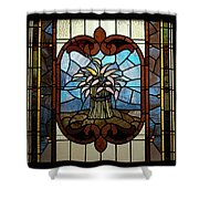 Stained Glass Lc 20 Shower Curtain