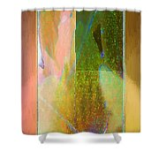Stained Glass Shower Shower Curtain