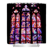 Stained Glass Window II Shower Curtain