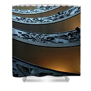 Staircase At The Vatican Shower Curtain by Bob Christopher