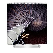 Stairs To The Light Shower Curtain