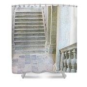 Stairway In Radovlica Shower Curtain