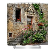 Stairway Provence France Shower Curtain