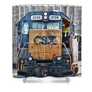 Stalled 7141 Shower Curtain