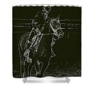 Stand Out Glowing Duo Shower Curtain