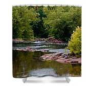 Standing Alone Shower Curtain