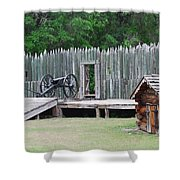 Standing Ready Shower Curtain