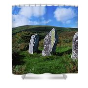 Standing Stone Alignment, Near Shower Curtain