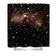 Star Forming Regions Shower Curtain