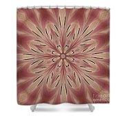 Star Magnolia Medallion 3 Shower Curtain