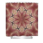 Star Magnolia Medallion 4 Shower Curtain