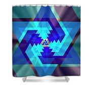 Star Of David 1 Shower Curtain