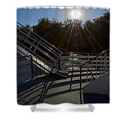 Starboard Bow Shower Curtain