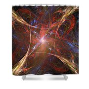 Starburst Shower Curtain