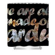 Stardust Shower Curtain by Nikki Marie Smith