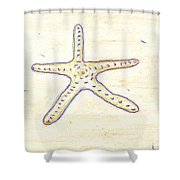 Starfish 1 Shower Curtain