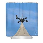 Staring Southward Shower Curtain