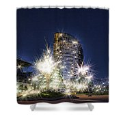 Starlight Building Shower Curtain
