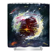 Starlight Starbright Shower Curtain